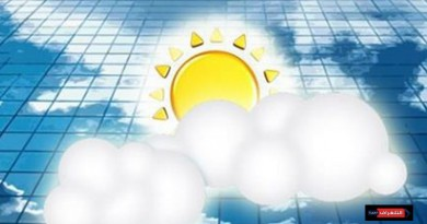 طقس الأربعاء: الحرارة اعلى من معدلاتها وسحب ركامية على غرب البلاد