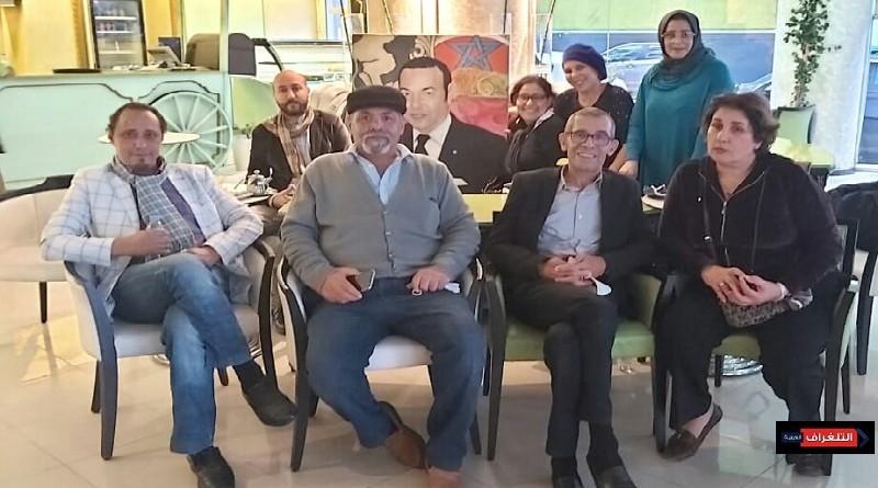 تشكيليون مغاربة يخلدون ذكرى المسيرة الخضراء باحتفال جميل 
