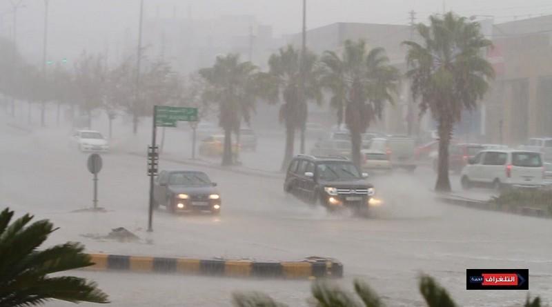 طقس التلغراف: رياح قوية على معظم الأنحاء وامطار ورعد على المناطق الشمالية