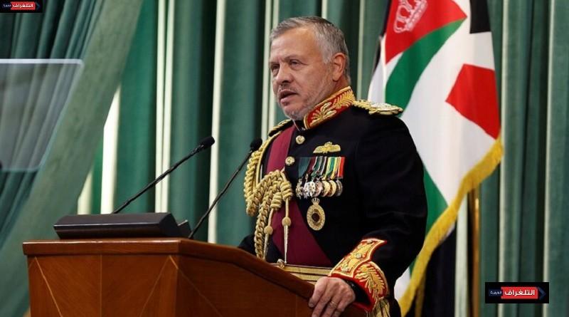 عبد الله يوجه رسالة لشعب الأردن حول التطورات الأخيرة