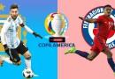 الارجنتين وتشيلي كوبا أمريكا 2021