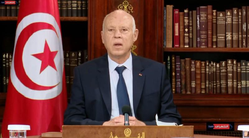 الرئيس التونسي يعلن إلغاء حظر التجول في البلاد