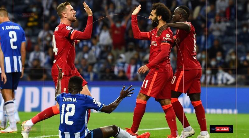 أهداف مباراة بورتو وليفربول دوري أبطال أوروبا