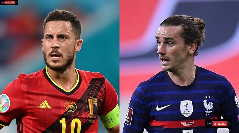 نقدم لمشاهدينا الكرام متابعة حية وممتعة لمباراة بلجيكا وفرنسا ، دوري الأمم الأوروبية ، بث مباشر، تذاع المباراة الساعة 08:45 مساءآ بتوقيت القاهرة.